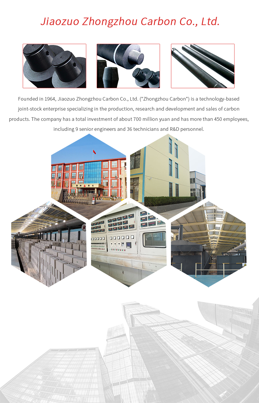 Special graphite structural parts